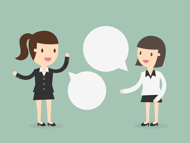 Znalezione obrazy dla zapytania rozmowa