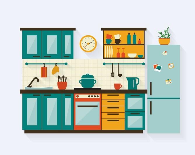 J zyk angielski w kuchni przydatne zwroty i s ownictwo for Dibujos sobre cocina